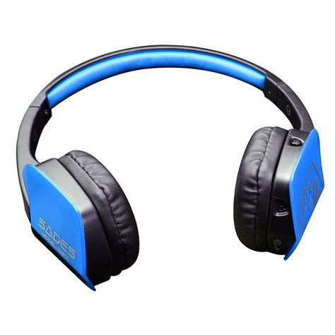 Headset Bluetooth Gaming sades stereo wireless bluetooth gaming headset headphone with mic for pc phone