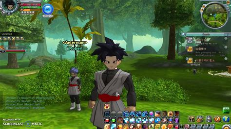 game java dragon ball online mod dragonball online global 2017 goku black super saiyan rose