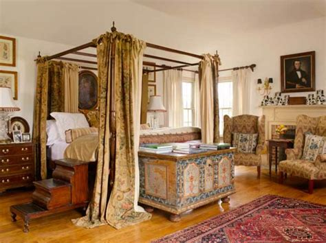 Colonial Bedroom by Colonial Revival Bedrooms With An World Look