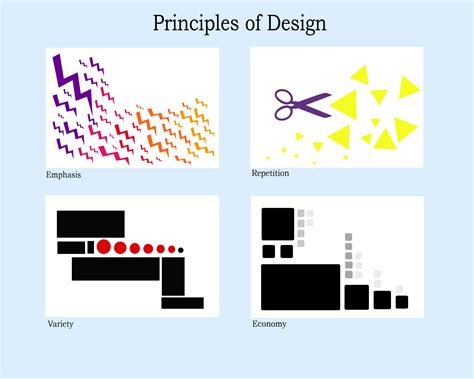 design principles principles of design togram