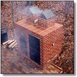 Pics photos brick bbq pit smoker plans