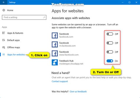 windows 10 photo app tutorial apps for websites turn on or off in windows 10 windows
