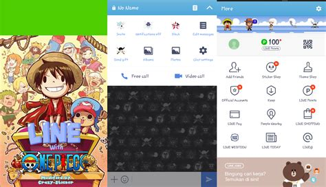 tema line android anime kumpulan tema theme line anime one piece di android