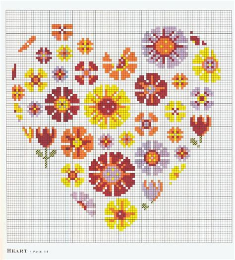 pattern kristik 17 best images about cuori on pinterest about heart