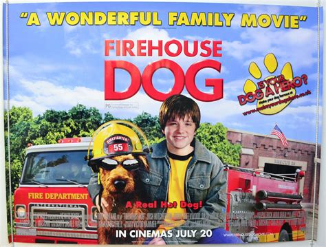fire house dog movie firehouse dog original cinema movie poster from pastposters com british quad posters