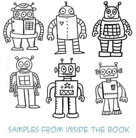 robot coloring pages pdf pdf the robot coloring book coloring the o jays and