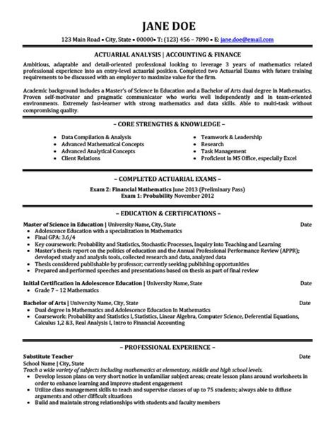 actuary resume sample actuarial analyst resume sample resume - Sample Actuary Resume