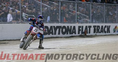 daytona track results daytona flat track results johnson halbet earns wins