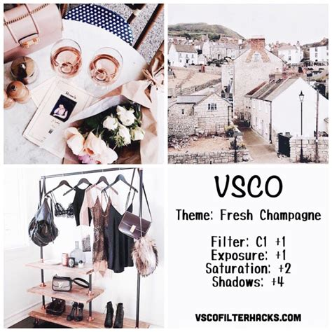 cute themes for instagram fresh chagne instagram feed using vsco filter c1