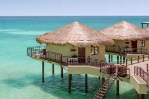 overwater bungalows luxury overwater bungalows in riviera maya mexico mexcation