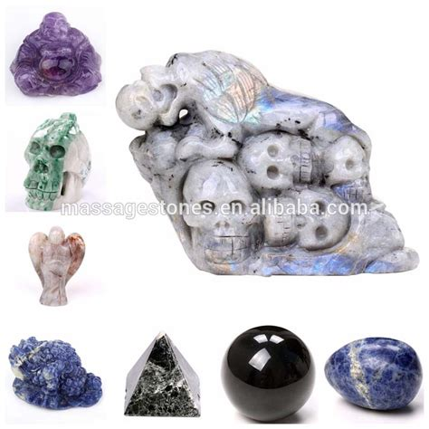 and polished stones for crafts