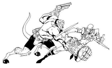 hellboy vrs kroenen by darthzemog on deviantart