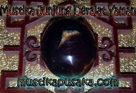 khasiat dan tuah batu mustika yaman hitam batu mustika