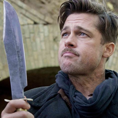 Brad Pitt Inglorious Bastard Haircut | brad pitt images brad in inglourious basterds hd wallpaper