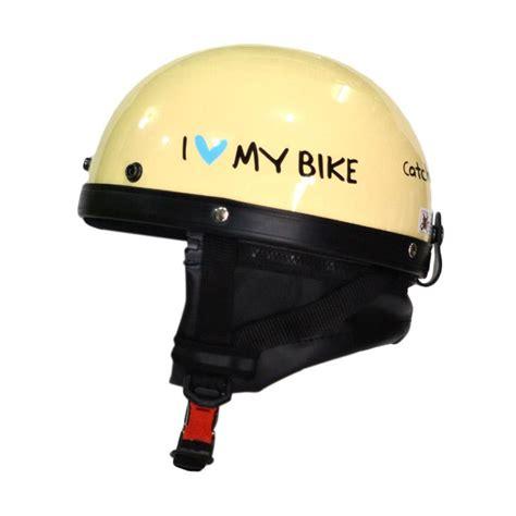 Helm I My Bike jual fino helmet retro catok i bike half helm sepeda glossy harga