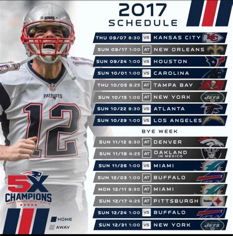 printable schedule for new england patriots free printable patriots schedule 2015 2016 calendar