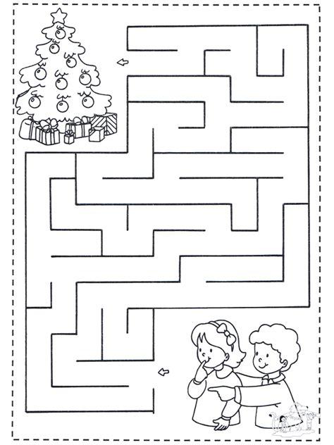 Trabajos De Navidad Para Ninos De Primaria #2: Noel-labyrinthe-1-b2529.jpg