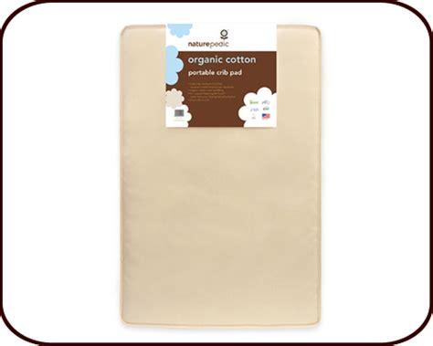Portable Crib Mattress Dimensions Organic Cotton Mini Portable Crib Mattress Naturepedic