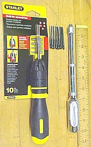 stanley yankee push drill ratchet screwdriver combo
