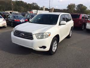 Toyota Of Concord Nc 2008 Toyota Highlander Base Awd 4dr Suv In Concord Nc