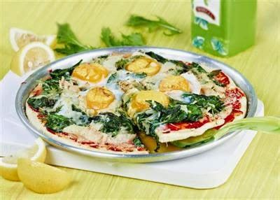 Kulit Pizza Diameter 20cm redaksi farma side up egg pizza