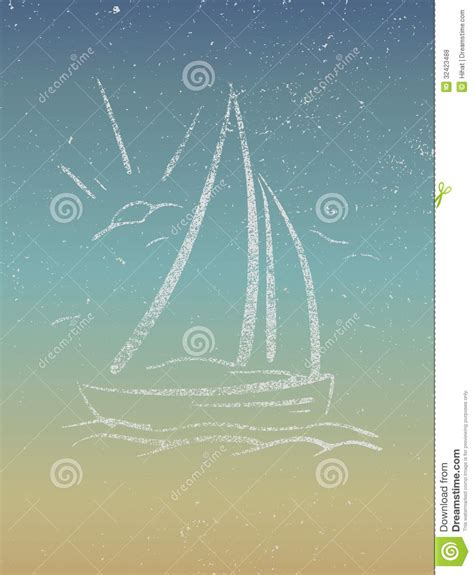 layout poster free vector vintage seaside view poster vector eps8 royalty free
