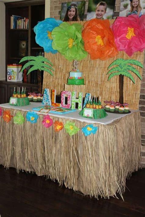 ideas  una fiesta hawaiana  como organizar la casa fachadas decoracion de