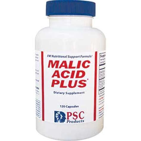 Malic Acid Brain Detox by Malic Acid Plus With Boswellia Magnesium Chromium C And