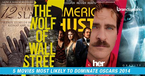 film animasi terbaik oscar 2014 5 movies most likely to dominate oscars 2014 brandsynario