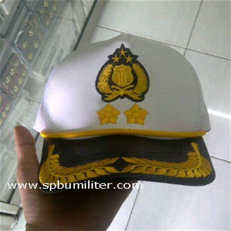 Topi Pamen Polri Melati 2 Limited topi new korlantas melati 2 pangkat akbp spbu militer