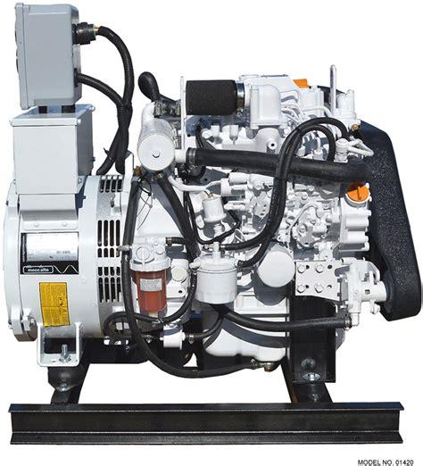 isuzu 12 kw marine diesel generator