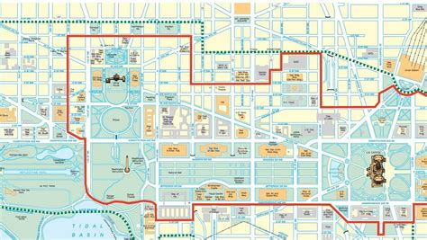 Washington dc road map with metro stations travel maps kotaksurat washington dc road map with metro stations travel maps publicscrutiny Image collections