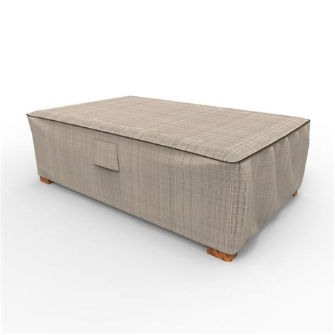Patio Coffee Table Cover Budge Chelsea Medium Patio Ottoman Coffee Table Covers P5a35tn1 The Home Depot