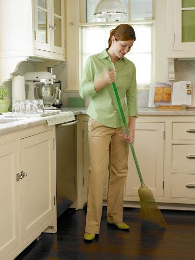 sweep the kitchen house cleaning bay area san francisco palo alto san