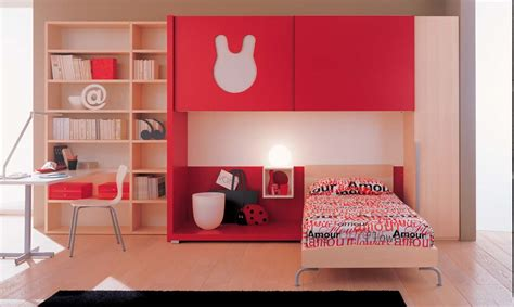 kids red bedroom interior exterior plan kids bedroom in red