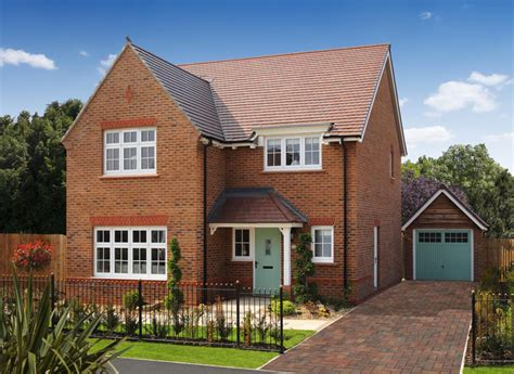 Redrow 3 Bedroom Houses by Oaklands New 3 4 Bedroom Homes In Sutton