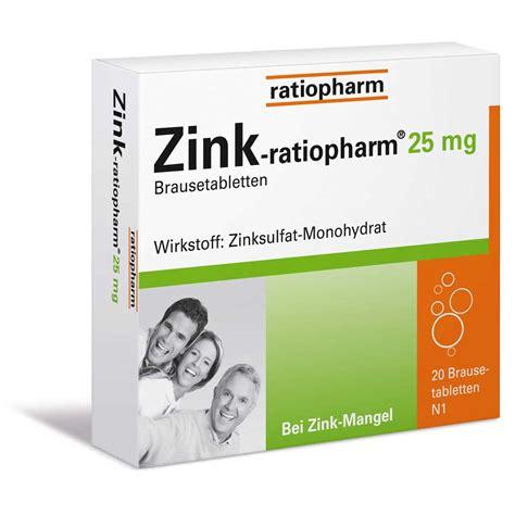 Shoo Zink zink ratiopharm 174 25 mg brausetabletten shop apotheke
