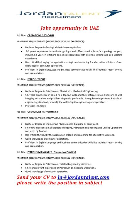 Operations Geologist by Opportunities In Uae 3