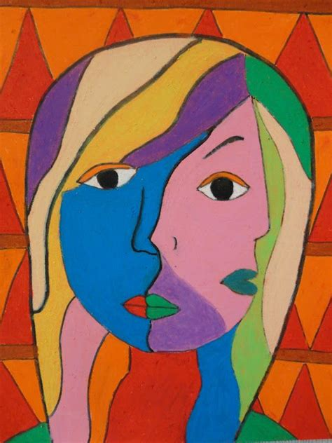 picasso paintings cubism mash pastel picasso cubism portraits check