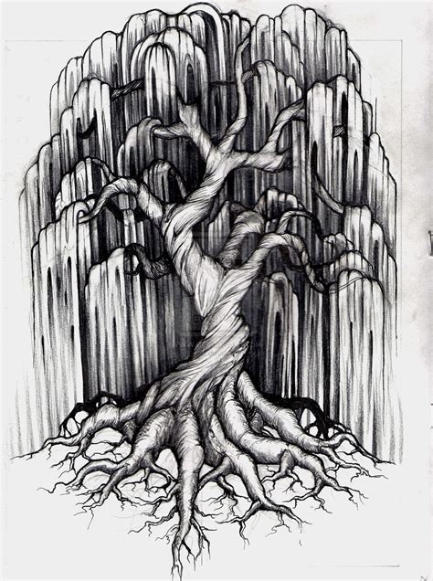 willow tree tattoo designs willow tree tattoos on weeping willow