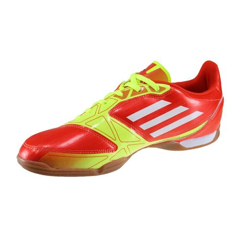 adidas f5 adidas f5 mens indoor soccer shoes red orange yellow