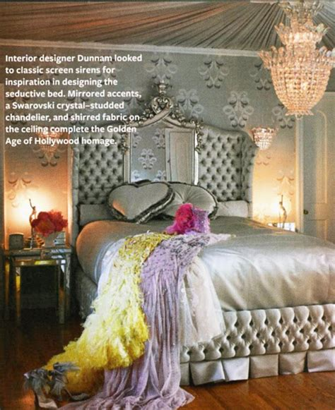old hollywood vintage glamour bedroom a queens castle pinterest hollywood dark and everything dita von teese s glam retro style at home hooked on houses