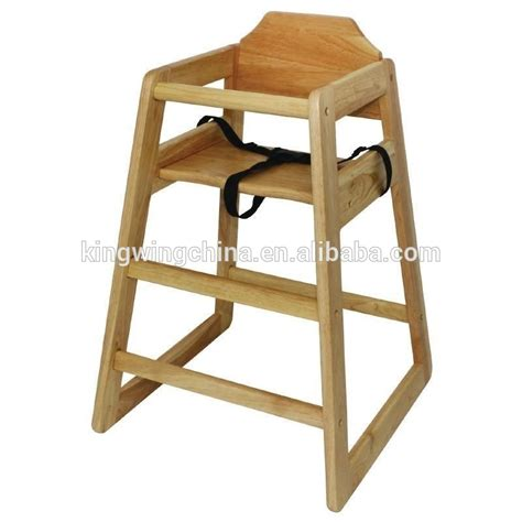High Chairs Wooden by Stackable Wooden Baby Feeding High Chair Baby High Chair