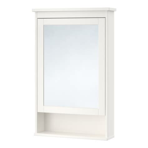 Hemnes Mirror Cabinet With 1 Door White Ikea Ikea Bathroom Mirror