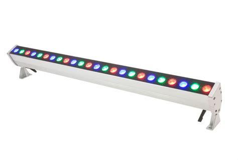 rgb led lighting american lighting led linear rgb wall washer 16in