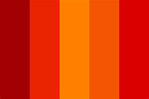 a shade of vire 2 a shade of blood and flames color palette