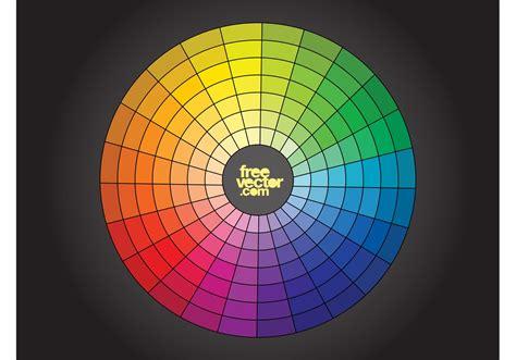 color free free color wheel vector free vector stock