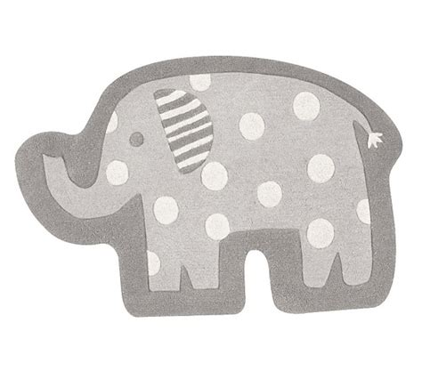 pottery barn elephant rug elephant shaped rug pottery barn