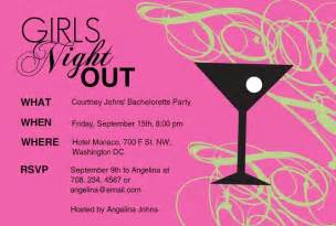 girls night l party invitations by purpletrail