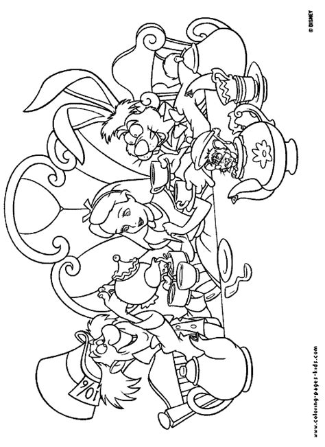 alice in wonderland coloring pages coloring pages to print